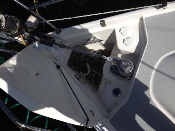 Lewmar Anchor windlass