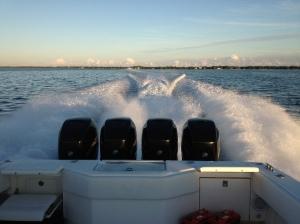 Garmin GHP20 Autopilot Sea trial